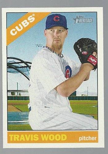 Photo of 2015 Topps Heritage #398 Travis Wood