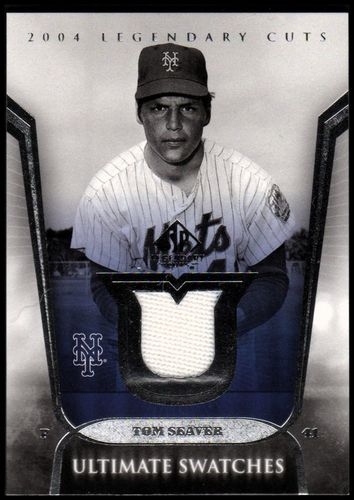Photo of 2004 SP Legendary Cuts Ultimate Swatches #TS Tom Seaver Jsy SP