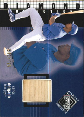 Photo of 2002 Upper Deck Diamond Connection #375 Carlos Delgado DC Bat