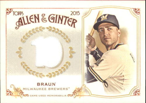 Photo of 2015 Topps Allen and Ginter Relics #FSRBRB Ryan Braun B