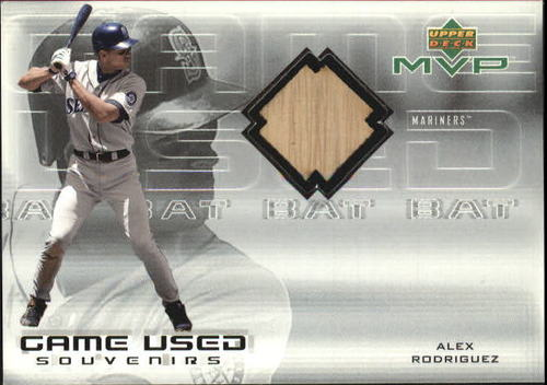 Photo of 2000 Upper Deck MVP Game Used Souvenirs #ARB Alex Rodriguez Bat