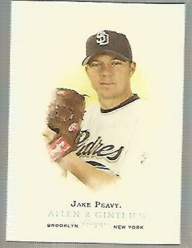 Photo of 2006 Topps Allen and Ginter #183 Jake Peavy