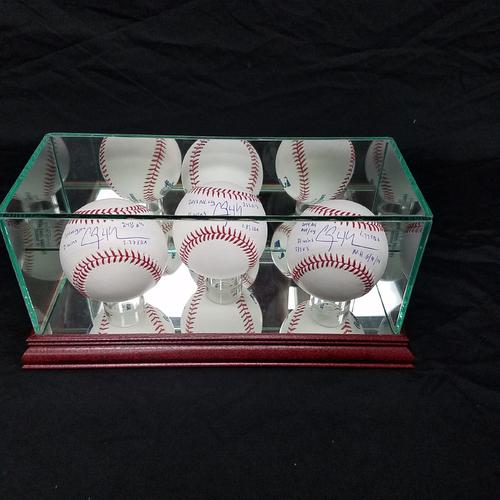 Photo of Kershaw's Challenge: Autographed Clayton Kershaw Baseballs 2011,2013,2014 Inscriptions