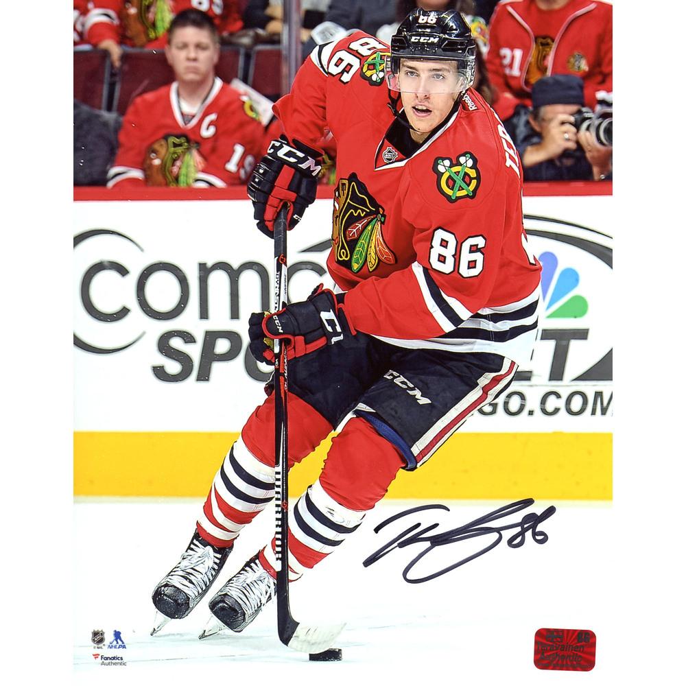 Teuvo Teravainen Chicago Blackhawks Autographed 8