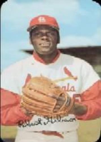 Photo of 1971 Topps Super #48 Bob Gibson