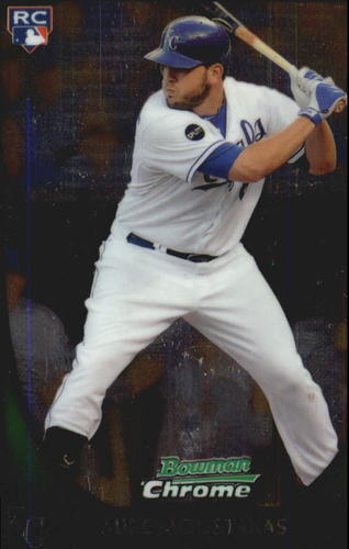 Photo of 2011 Bowman Chrome Draft #1 Mike Moustakas RC