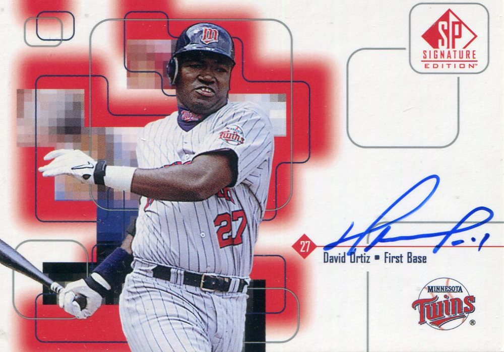 1999 SP Signature Autographs #DO David Ortiz