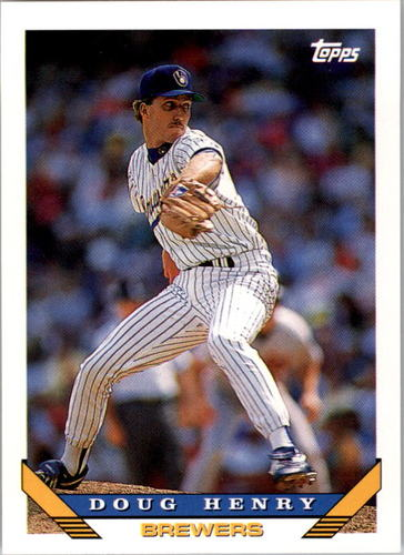 Photo of 1993 Topps #343 Doug Henry