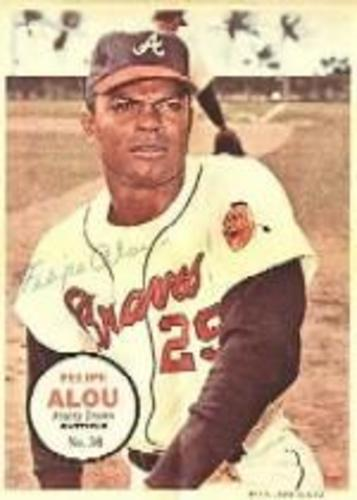 Photo of 1967 Topps Posters Inserts #30 Felipe Alou