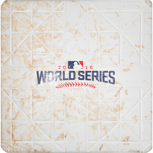 Photo of 2016 World Series Game 5: Game-used 1st Base, Used during 3rd and 4th Innings
