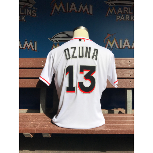 Team-Issued Jersey: Marcell Ozuna 2017 ASG