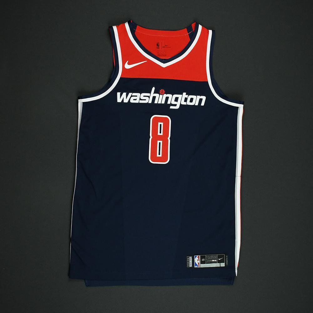 Tim Frazier - Washington Wizards - 2018 NBA Playoffs Game-Worn 'Statement' Jersey - Dressed, Did Not Play