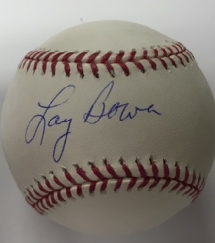 Photo of Larry Bowa Autographed Baseball