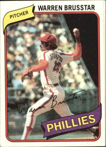 Photo of 1980 Topps #52 Warren Brusstar