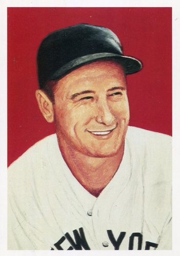 Photo of 1985 Ultimate Baseball Card #4 Lou Gehrig