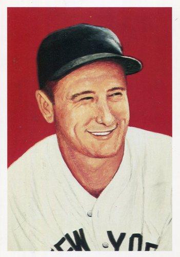 Photo of 1985 Ultimate Baseball Card #4 Lou Gehrig
