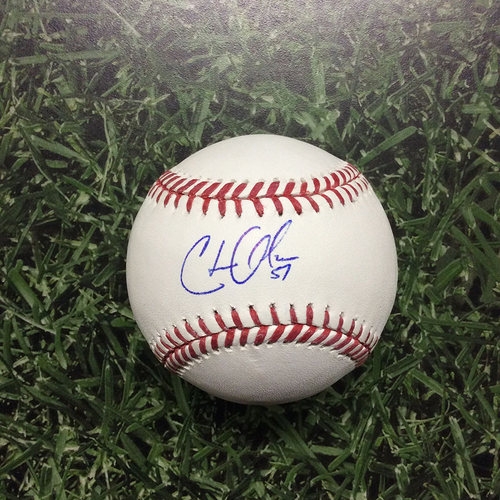 Photo of Chase Anderson Autographed Baseball