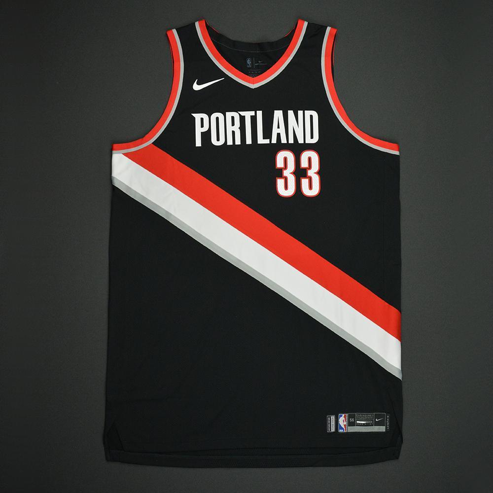 Zach Collins - Portland Trail Blazers - 2017 NBA Draft - Autographed Jersey