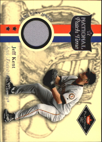 Photo of 2001 Fleer Platinum National Patch Time #31 Jeff Kent S2