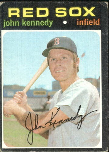 Photo of 1971 Topps #498 John Kennedy