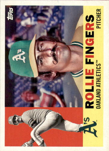 Photo of 2017 Topps Archives #59 Rollie Fingers