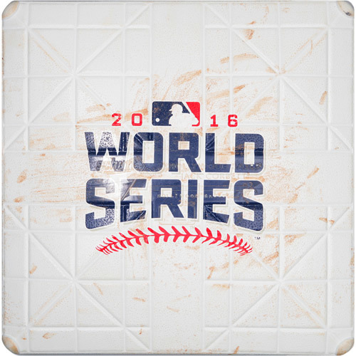 Photo of 2016 World Series Game 6: Game-used 3rd Base, Used during 7th and 8th Innings