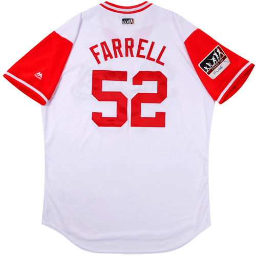 "Photo of Luke ""Farrell"" Farrell Cincinnati Reds Game-Used Players Weekend Jersey"