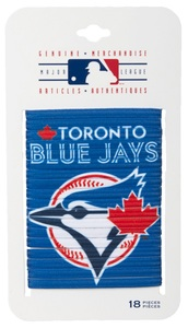Toronto Blue Jays Logo Hair Elastics by Gertex