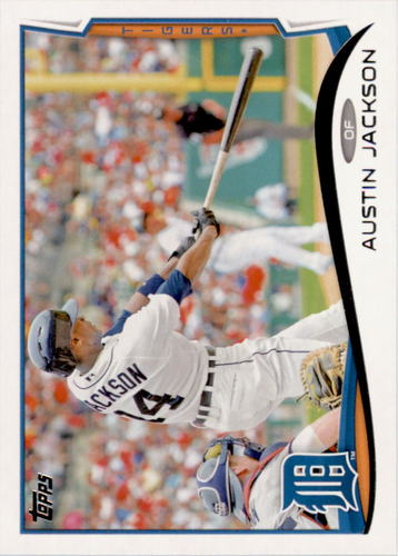 Photo of 2014 Topps #372 Austin Jackson