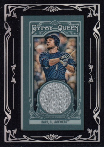 Photo of 2013 Topps Gypsy Queen Framed Mini Relics #CH Corey Hart