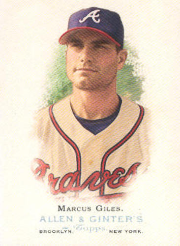 Photo of 2006 Topps Allen and Ginter #189 Marcus Giles