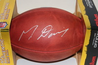 NFL - 49ERS MIKE DAVIS SIGNED AUTHENTIC FOOTBALL