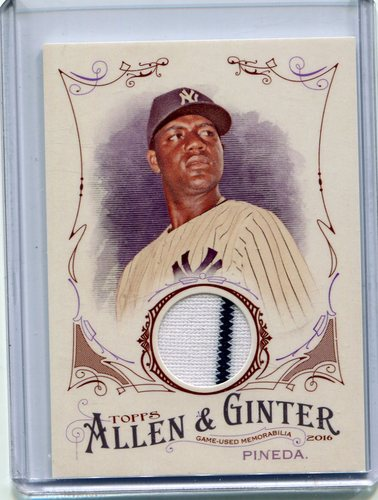 Photo of 2016 Topps Allen and Ginter Relics jersey Michael Pineda