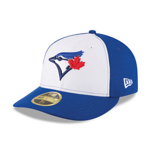 Toronto Blue Jays Authentic Collection Game Alt 3 Low Crown White/Royal Cap by New Era