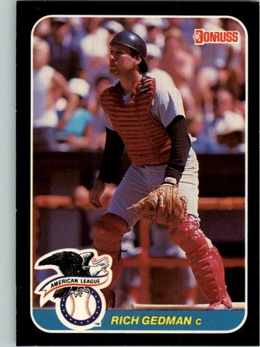 Photo of 1987 Donruss All-Stars #39 Rich Gedman