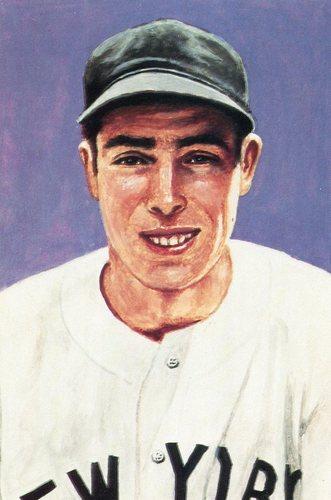 Photo of 1985 Ultimate Baseball Card #9 Joe DiMaggio