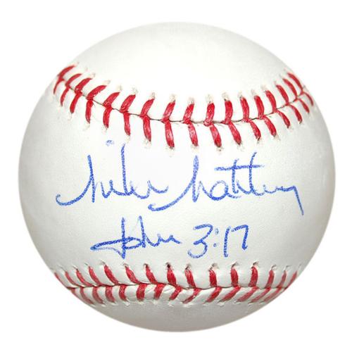 Cardinals Authentics: Mike Matheny Autographed Baseball