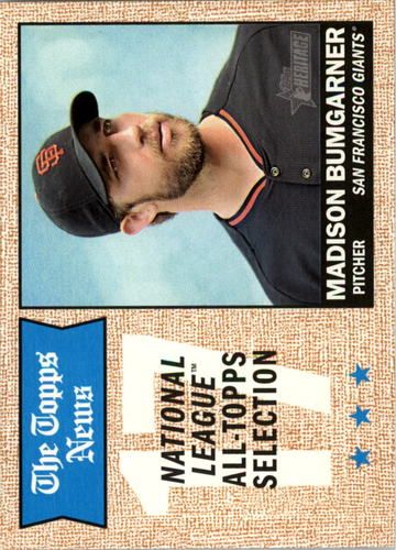Photo of 2017 Topps Heritage #376 Madison Bumgarner TNAS