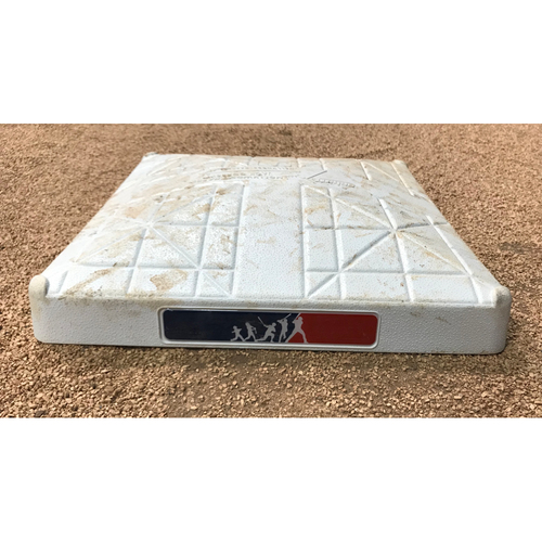Photo of 2017 Game-Used Base: San Diego Padres vs Miami Marlins (Aug. 27, 2017) - Player's Weekend