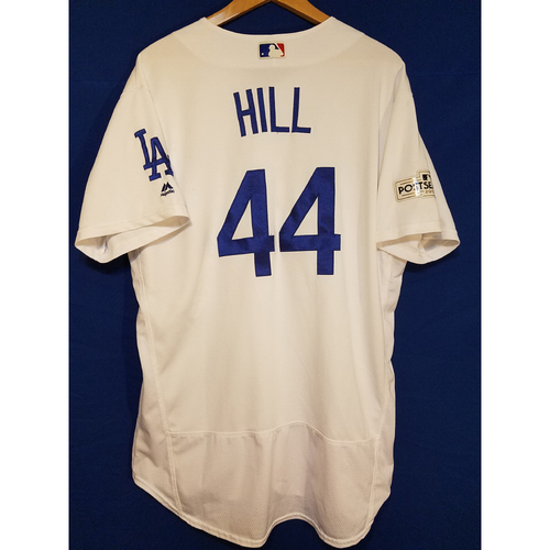 Photo of Rich Hill Home 2017 Team-Issued Post Season Jersey