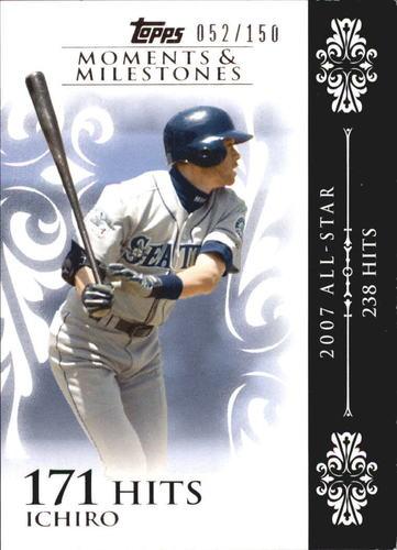 Photo of 2008 Topps Moments and Milestones #63-171 Ichiro Suzuki