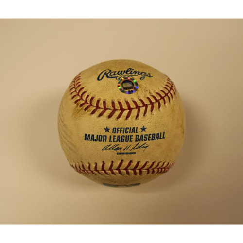 Photo of Game Used Baseball 2006 ALDS Game 3 (Tigers vs Yankees)