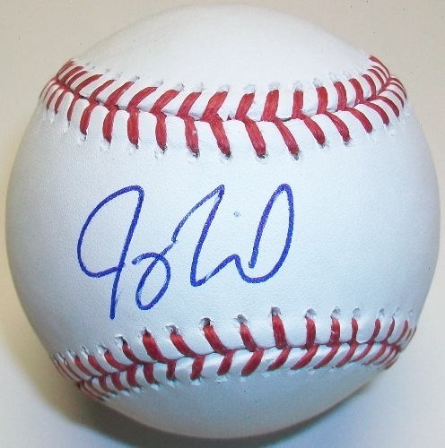 Joey Terdoslavich Autographed Official MLB Baseball