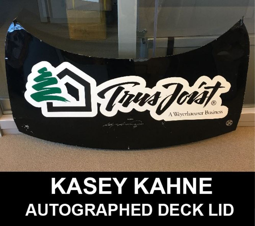 Kasey Kahne #79 deck lid Autographed