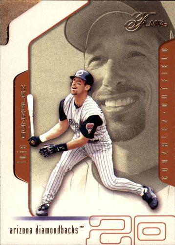 Photo of 2002 Flair #36 Luis Gonzalez