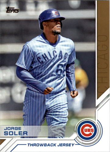 Photo of 2017 Topps Salute #S27 Jorge Soler
