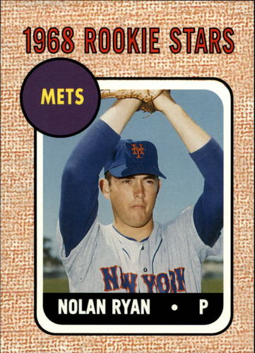 Photo of 2006 Topps Rookie of the Week #5 Nolan Ryan 1968