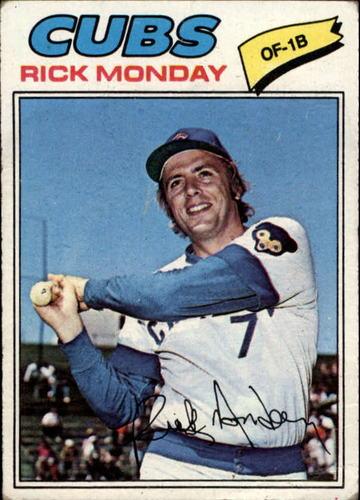Photo of 1977 Topps #360 Rick Monday