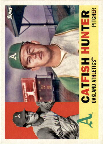 Photo of 2017 Topps Archives #60 Catfish Hunter