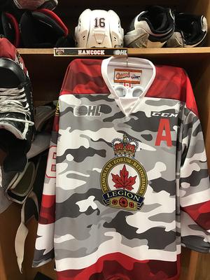 Kevin Hancock camo jersey
